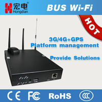 Advertisement Pushing 4G Router for Bus wifi