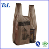 Best sales in African market t-shirt plastic bag, vest carrier handle carry out plastic pe bag