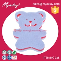 MC-038 animal shape eraser sponge pad for pva spong for magic sponge made in china