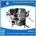 De China SH476 de enfriamiento de agua Inboard motor con CE