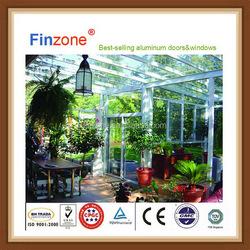 Price of new design best selling aluminum glass sunroom oem/odm