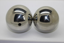 hollow stainless steel ball with hole