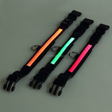 pet products new non-toxic LED flashing pet collars