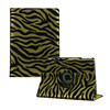 Sleep/Wake smart case PU Leather Standing Cover for ipad Mini Swivel Case Leopard Pattern Printing