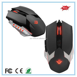 8D Metal Bottom optical gaming mouse for desktop and laptop