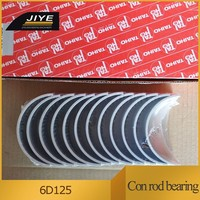 Wholesale price High quailty 6D125 engine main bearing and con bearing