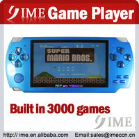 4.3 inch game player, mp5 player built-in 3000 games