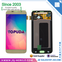 100% Warranty Mobile Phone LCD Replacement With Touch Screen Assembly For Samsung Galaxy S6