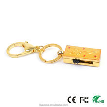 golden dragon metal animal shape usb flash drive