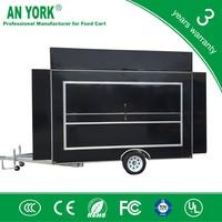 FV-55 best body double trailer mobile catering trailer for sa trailer for welding machine