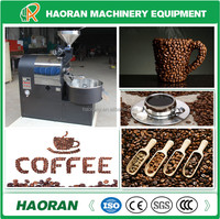 2015 commercial drum 6kg coffee bean roaster/coffee roaster for sale/gas coffee roasting equipment