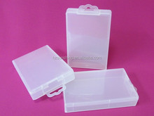 High quality gift box plastic PP storage box with handle