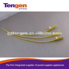 S020 plastic security seals with barcode for security shipping&packaging