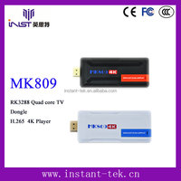 INST RK3288 Quad core ezcast dongle best selling tv box android hd pron v H.265 4K Player wholesale android smart tv set top box