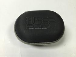 High quality eva earphone case durable hard carrying headphone case