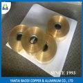 estándar gbt vendedor china bobina de cobre de superficie shinning h62