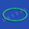 Moulé coloré NBR / Silicone joint en caoutchouc, Caoutchouc O anneau pour sceau portant