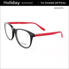 fashion design big full oval optical frames acetate reading glasses