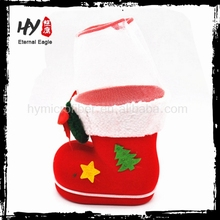new product christmas ornaments, christmas boots, plastic santa boots