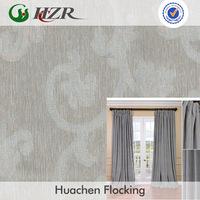 Polyester Damask jacquard decorationl jacquard fabric for glass door curtain