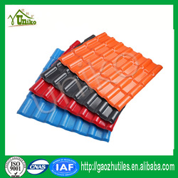Long span residential building material ASA upvc roofing tiles
