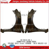 SYLPHY 2012 CAR MODEL FOR JAPANESE HOT SELLING IRON BODY PARTS FRONT FENDER