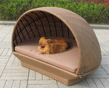 rattan dog house round bed for little puppy