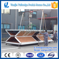 YULI folding container house patent protetion mobile house used for construction site