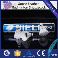 best international game of goose feather badminton shuttlecock