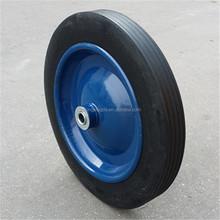 300mm rubber wheels 12 inch solid rubber wheel used for wheelbarrows
