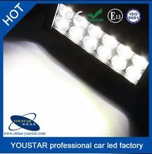 double row aluminum housing 36 watt auto accessory straight 7.5Inch led light bar for autos