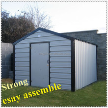 different roof styles of steel garden sheds