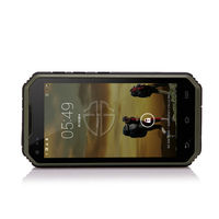 3G Quad core Military Android Dual SIM WCDMA rugged phone, 5 inch screen unlocked smartphone
