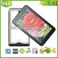 Moda prata 7 ips polegadas 1280*800 tablet pc, 3g bluetooth wifi tela capacitiva dual core 4.2 android tablet pc mid
