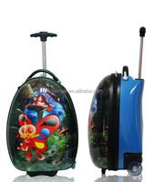 wheeled hard case kids bag cartoon kids school trolley bag BBL16-01