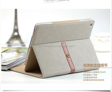 New arrival pu leather car seat headrest holder mounting strap case for ipad air 2 , HH-IP627(9)