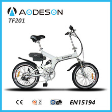 20 inch foldable e-bike TZ201 with 24v/10ah lithium battery bici elettrica folding bicycles for sale