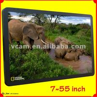 """7""""~55""""3g/wifi wall lcd television"""