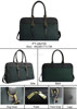 Hot Sale 2015 high quality men items Business Promotional Travel Bag luggage bag Green Brown Polyester PU PVC