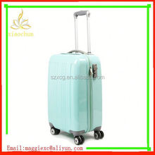 F136 High Quality abs trolley luggage with comfort handle