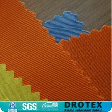 100% cotton and cotton-richer FR fabrics/100% Cotton Twill 315gr/sqm Fireproof fabric