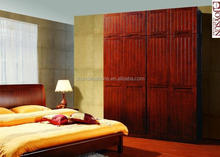 Wooden Wardrobe Design with top cabinet