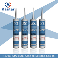 Trade Assurance auto windshield neutral structural silicone sealant
