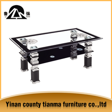 cheap glass top coffee table 2015 canton fair promotion products