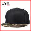Custom flat bill Blank camo snapback hats wholesale alibaba