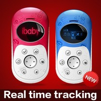 Hot sale gps real time tracking device phone with geofence and voice monitoring, sos emergency button tracker phone