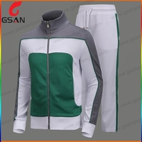 Sports Track Suits 100% Polyester Sport Tracksuit Fleece Tracksuit