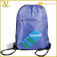 Polyester or Nylon Sport Drawstring Gym Sack, Gym sack drawstring bag with OEM LOGO