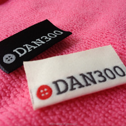 high definition taffeta weaving label,knitting clothing tag