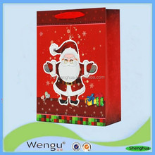 Hot new products for 2015 colorful paper christmas gift guess handbags,paper bag supplier and manufacture